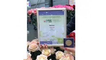 Цветочной продукции Узбекистана присуждена награда международной выставки в Москве